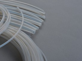 THIN-WALLED PTFE TUBES of various sizes, upon agreement