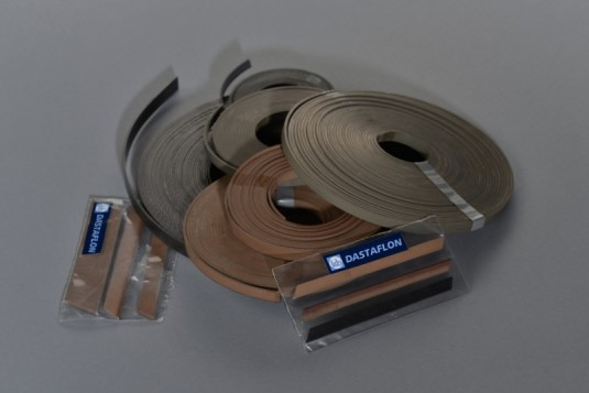 PTFE VBr and VGr guide strips for pneumatic and hydraulic systems